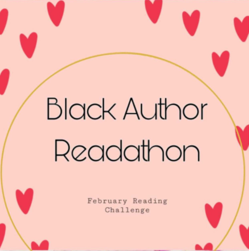 black author readathon button